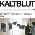 Наш арт-проект WORDS появился на страницах немецкого издания KALTBLUT!