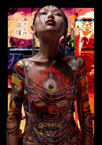 sexual brutal magazine, якудза, азиатка, модель азиатка, татуировки, мафия, фотограф станислав миронов, стас миронов, фотограф Станислав Миронов
