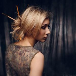Мягкий свет, портретная съемка в студии. Фотограф Станислав Миронов